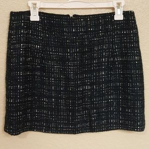 J.Crew wool blend mini skirt